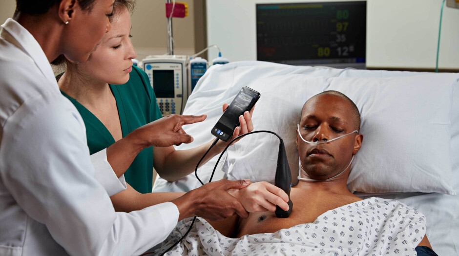 Hospitals are also using the Butterfly iQ wand - Android, iOS devices can help patients remotely test for coronavirus