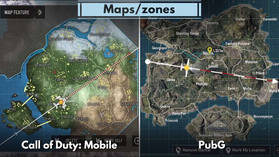Call of Duty vs PubG Comparison: which one has the better battle royale?