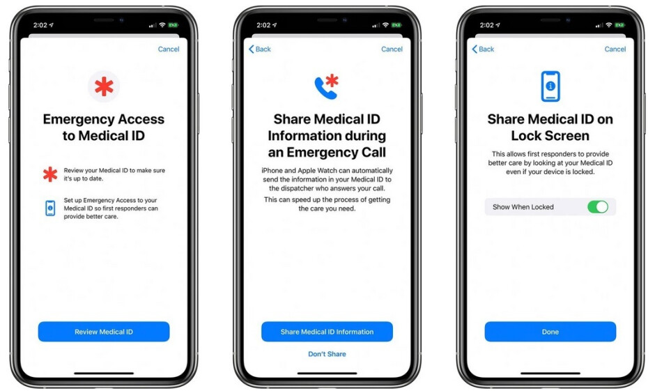 The iOS 13.5 update allows a user's Medical ID information to be sent to first responders automatically when 911 is called - Face mask wearing iPhone users rejoice! The iOS 13.5 update is here