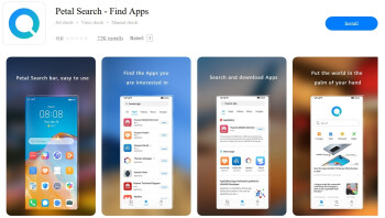 Petal Search is an app available from Huawei's AppGallery storefront - Huawei's new Petal Search app gives the middle finger to the U.S.