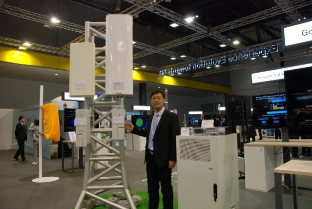 This is a 5G base station manufactured by Huawei - Huawei announces a breakthrough in 5G antenna design