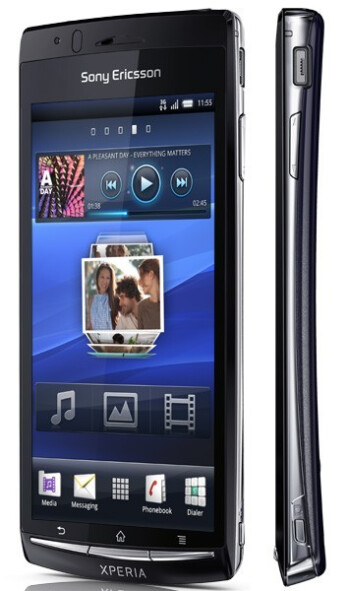 Sony Ericsson Xperia Arc leaked, is what we knew as Anzu