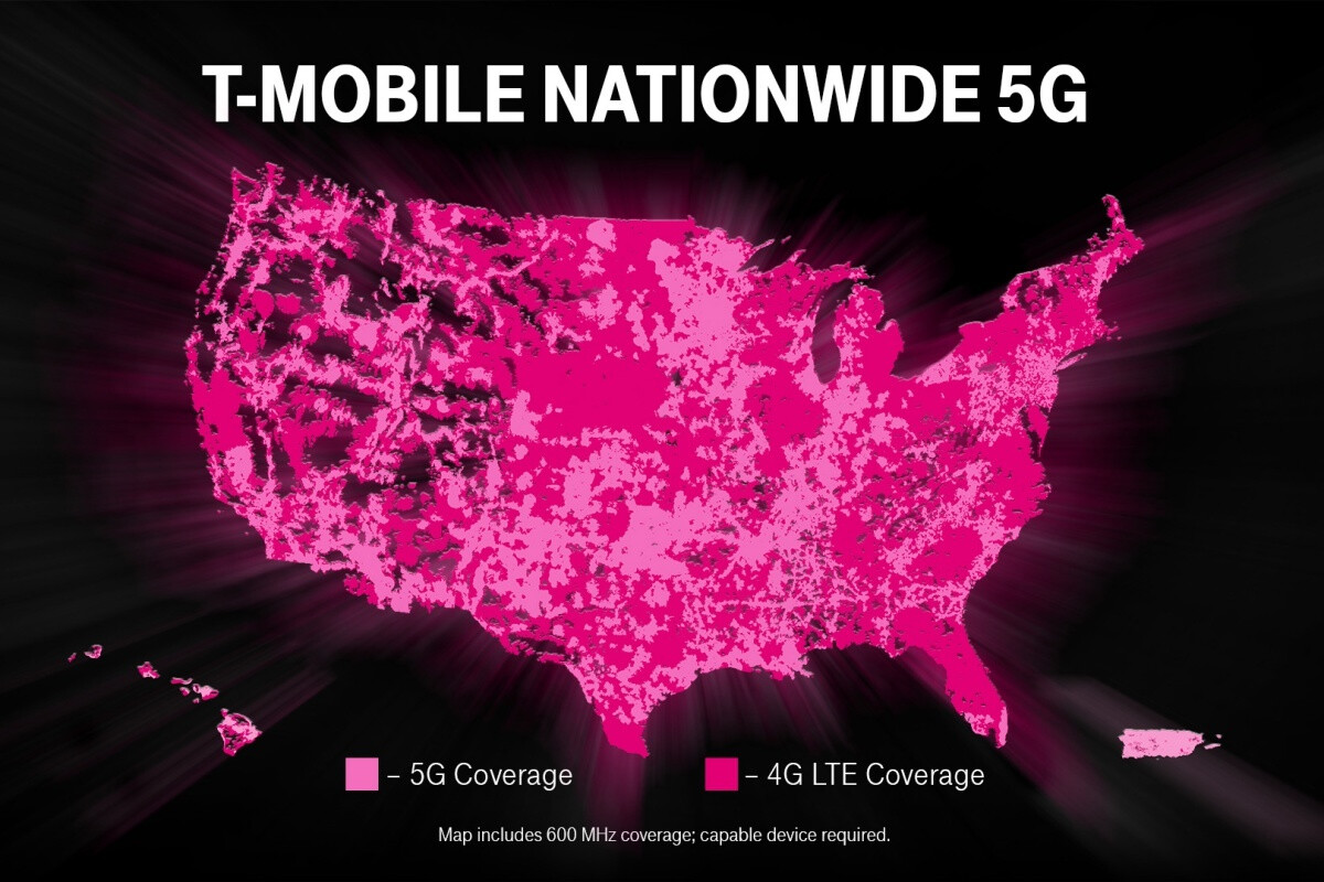 T-Mobile's 'nationwide' 5G network gets 'nationwide-r' with coverage in all 50 states