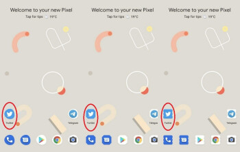 Three new icons for Android 11 appear in the first beta update - Google's giant mistake allows some Pixel 4 XL users to install the first Android 11 beta
