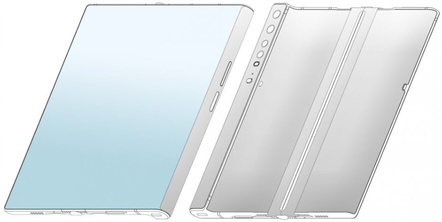 Xiaomi is planning a foldable phone very similar to the Huawei Mate Xs