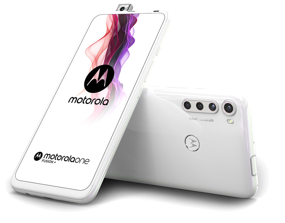 Moto One Fusion+ design - Motorola One Fusion+ goes official: The 5,000mAh quad-camera monster!