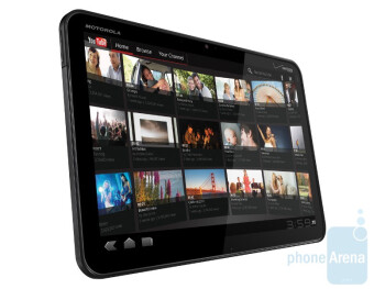 The Motorola XOOM tablet