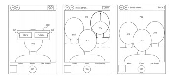 Examples of the user interface included in the patent - Patent reveals Apple's plan to revolutionize the way we take selfies