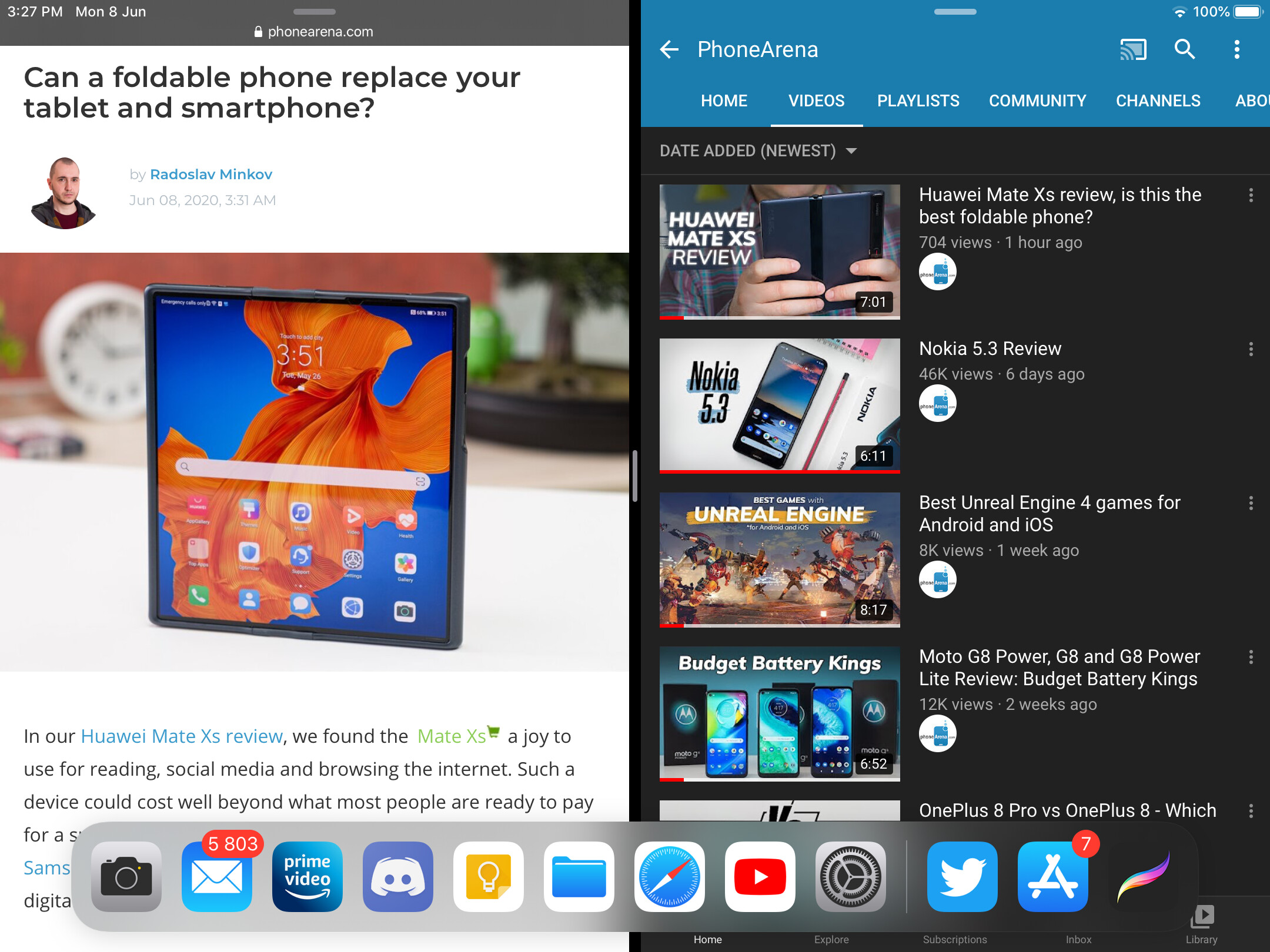 Multitasking on the iPad looks similar to how it is on Android, but functionally it's worse. - This is what iPadOS needs before the iPad can truly replace a computer