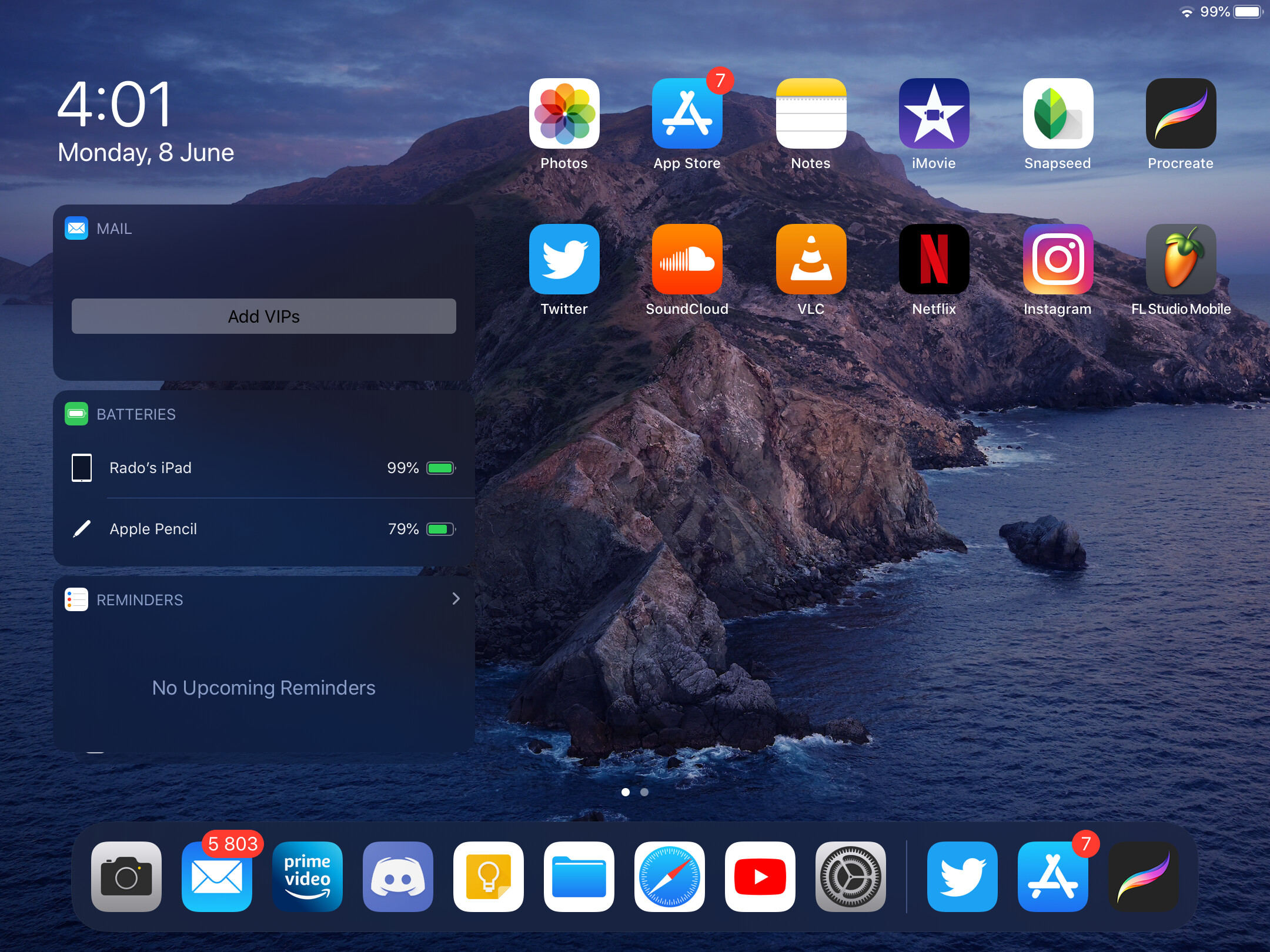 Today View is a home screen panel containing widgets, that is only available on iPad. - This is what iPadOS needs before the iPad can truly replace a computer