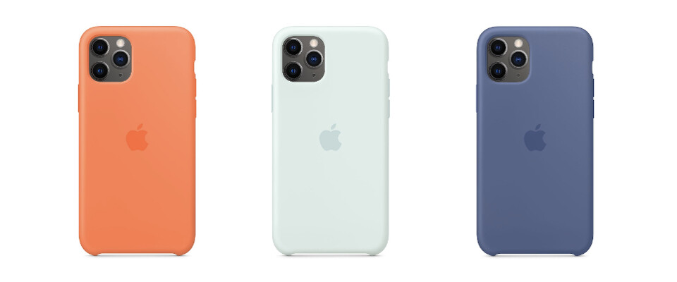 New Vitamin C, Seafoam, and Linen Blue iPhone 11 series silicone cases - Check out Apple's new iPhone 11 case colors with matching Watch bands