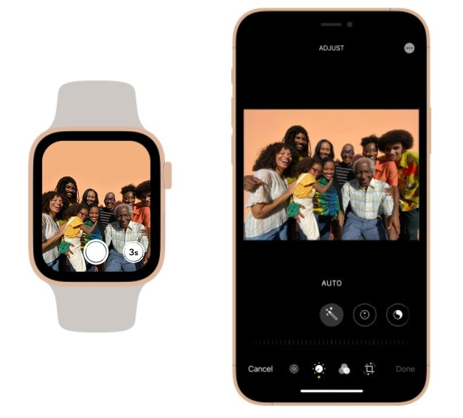 Apple says that the iPhone camera and the Apple Watch make a good team - Apple says that adding this device to the iPhone results in powerful capabilities