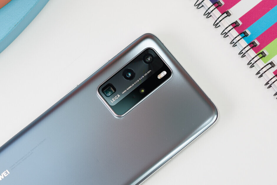 uawei's current flagship phone, the P40 Pro - U.S. actions killed Huawei's 2020 dream