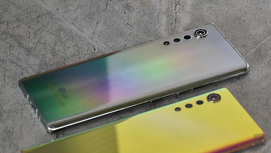 Silver LG Velvet appears - LG Velvet will have an even cheaper, non-5G version, and more colors