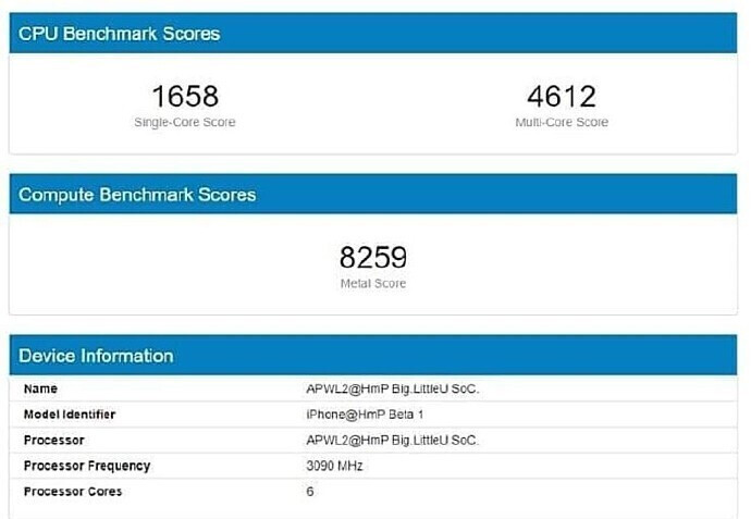 Alleged Apple A14 benchmark pegs it as the first to pass the 3GHz mark - A groundbreaking Apple A16 processor in the cards for iPhone 14