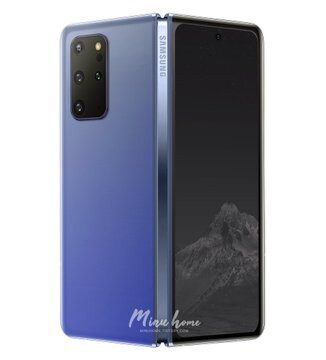 Galaxy Fold 2 renders based on leaks - Is this how the Samsung Galaxy Fold 2 would look like?