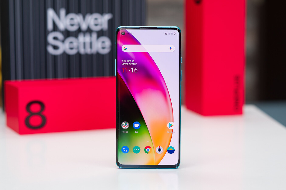 The OnePlus 8 can also run the first Android 11 beta, but we don't recommend that you install it - Check to see if your phone will be eligible to join the Android 11 beta program