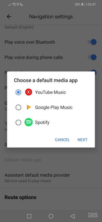 Google Maps update expands music player integration