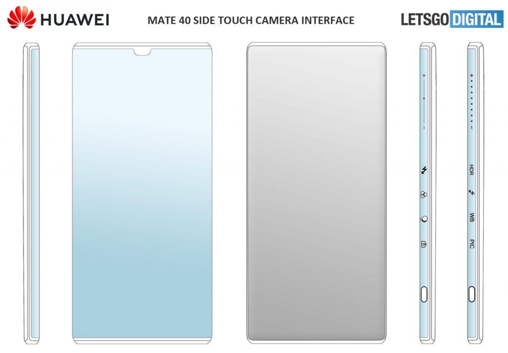 Huawei Mate 40 puede equiparse con controles táctiles de cámara intuitivos