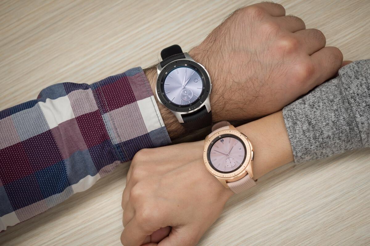 First-generation Samsung Galaxy Watch - The first live Samsung Galaxy Watch 3 pictures are here