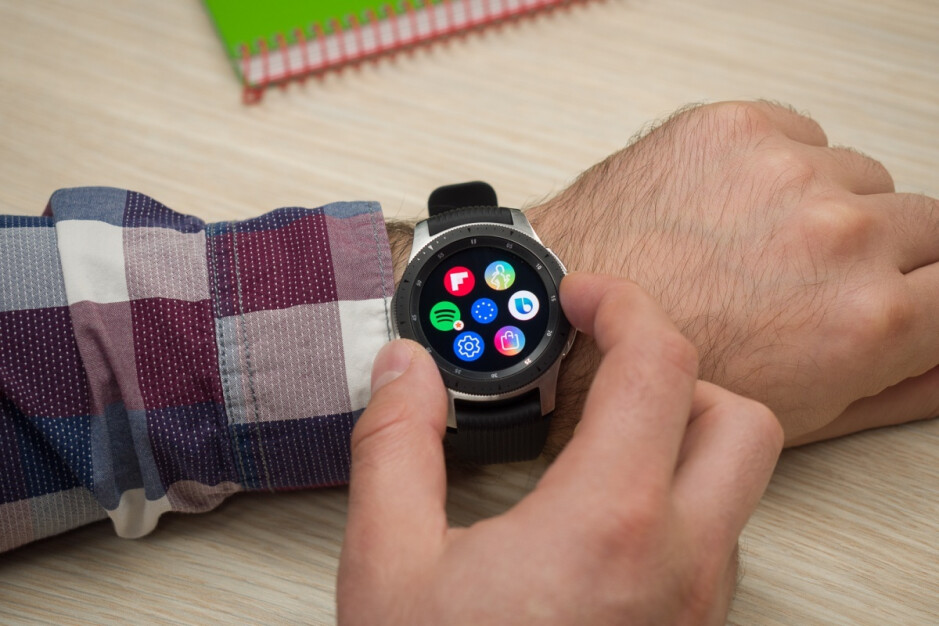 The Galaxy Watch was undoubtedly beautiful but also decidedly bulky - The first live Samsung Galaxy Watch 3 pictures are here