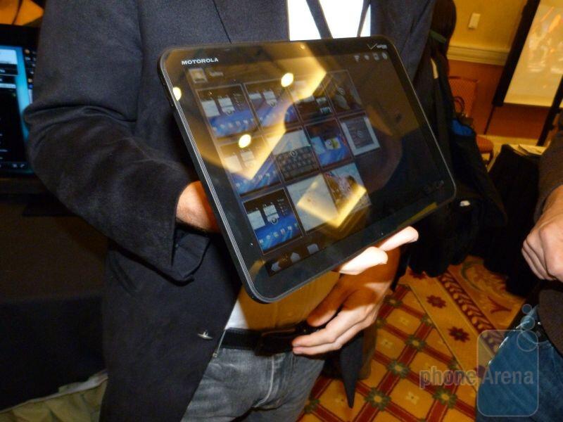 Motorola XOOM Hands-on