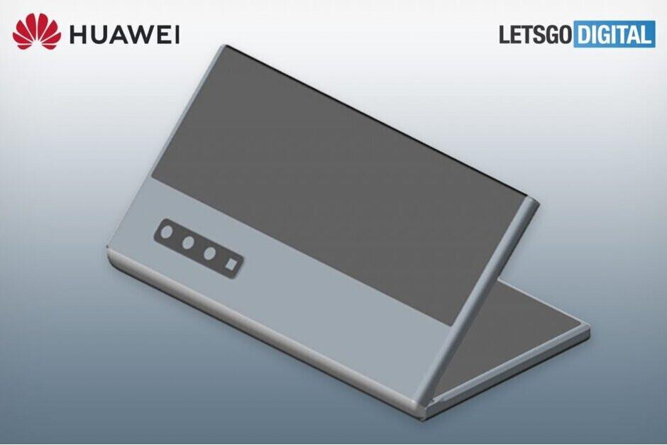 Así es como se vería el próximo teléfono plegable Huawei, según las últimas patentes. - Los próximos teléfonos plegables de Huawei y Xiaomi usarán vidrio ultra delgado