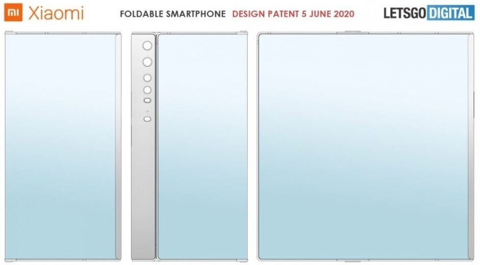 Xiaomi's latest folding phone patent suggests a Mate X-like design. - Upcoming folding phones from Huawei and Xiaomi will reportedly use ultra thin glass