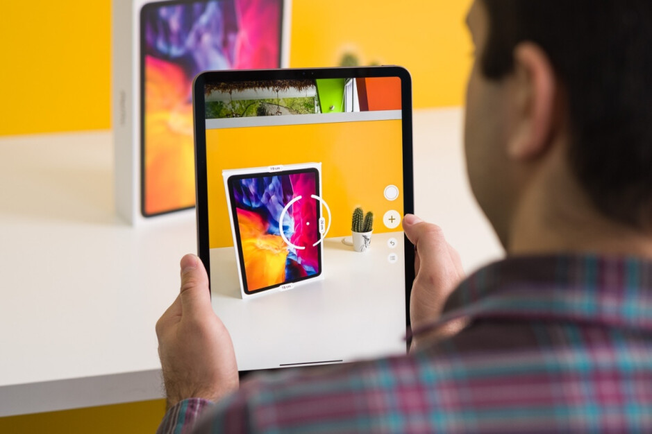 The LiDAR scanner in action on the early 2020-released iPad Pro 11 - Apple's next big iPad Pro could still come this year, but it probably won't