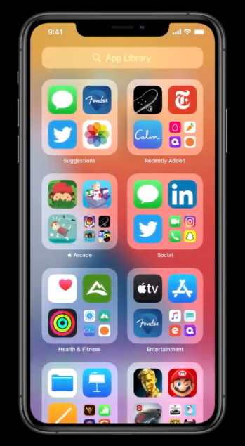 App Library - Apple just announced... an app drawer and widgets for iOS 14!