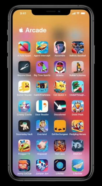 Opening an App Library folder - Apple just announced... an app drawer and widgets for iOS 14!