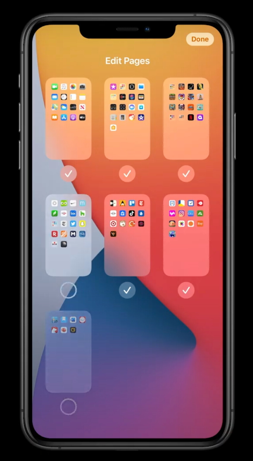 Hide homescreens to declutter your device - Apple just announced... an app drawer and widgets for iOS 14!
