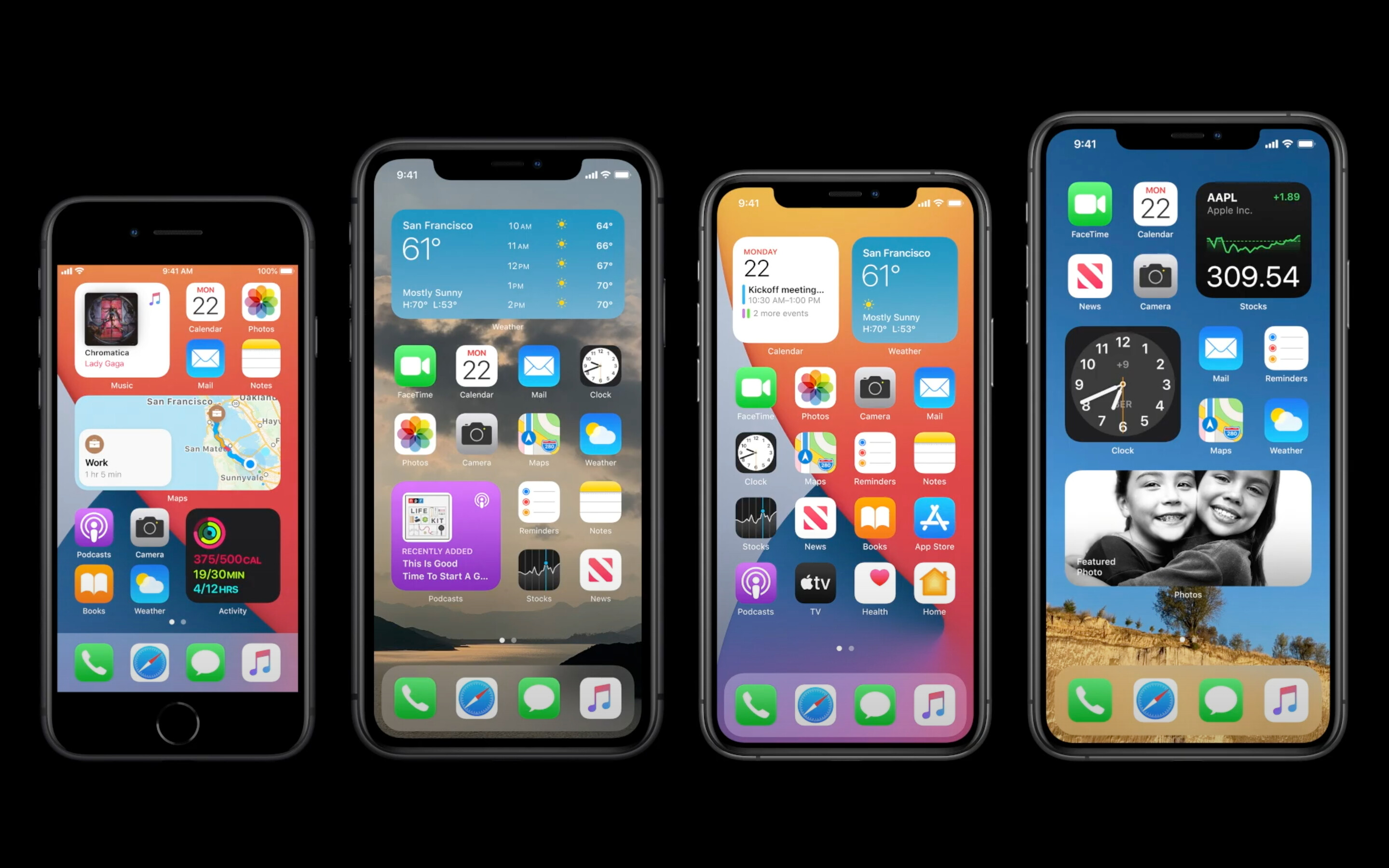 Apple just announced... an app drawer and widgets for iOS 14!