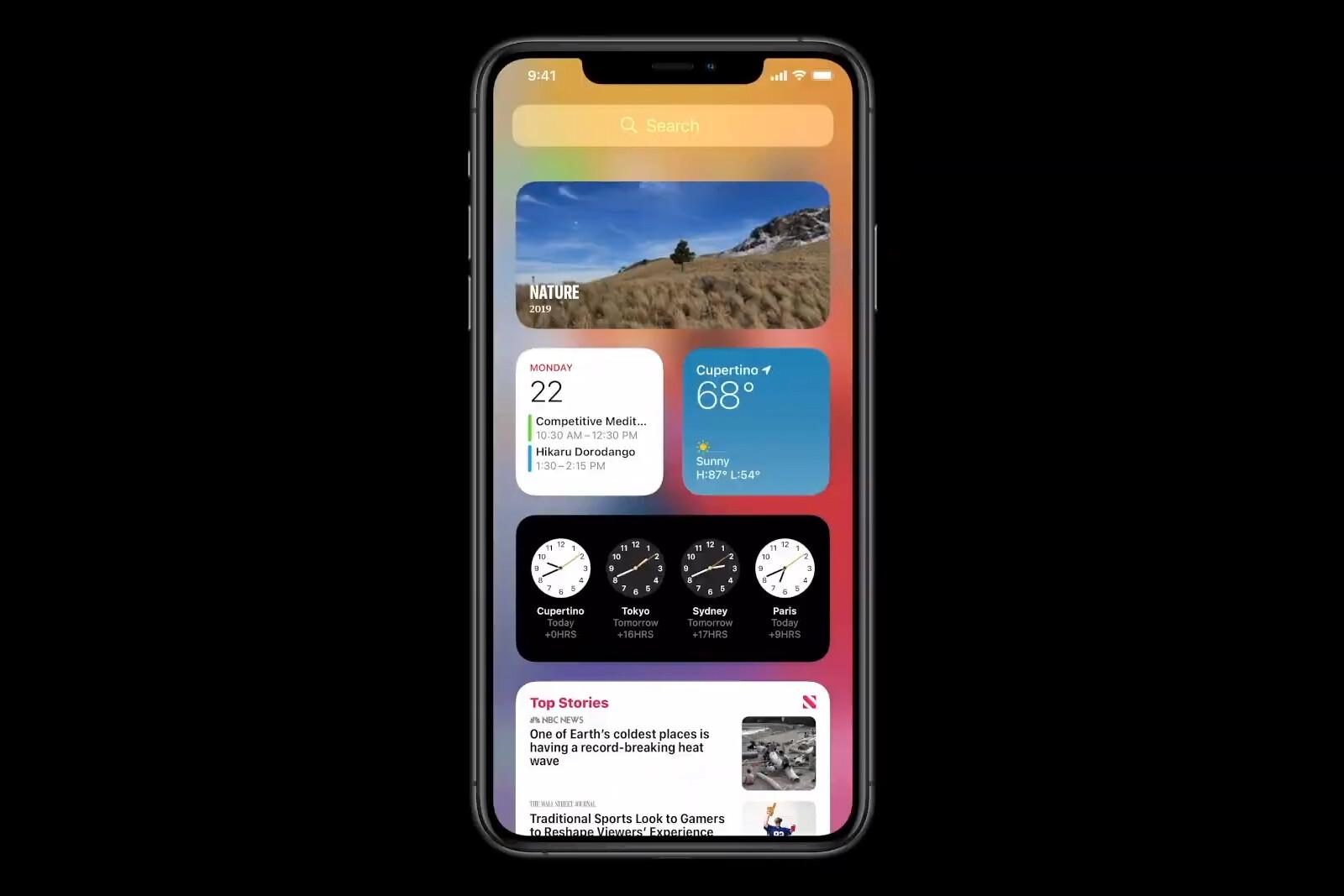 ویجت های جدید در iOS 14