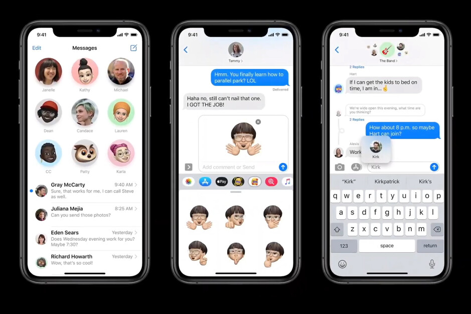 iMessage in iOS 14 features improved control over conversations and many more options for Group chats - iOS 14 is official – All the new features