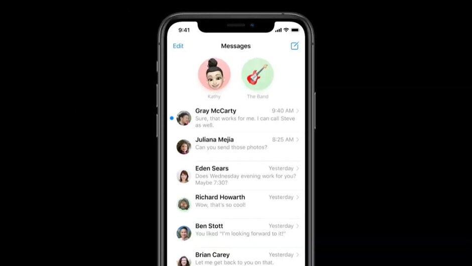 Pinned conversations in iOS 14 appear right on top of your Messages list - Messages in iOS 14 gets mentions in group chats, pinned conversations