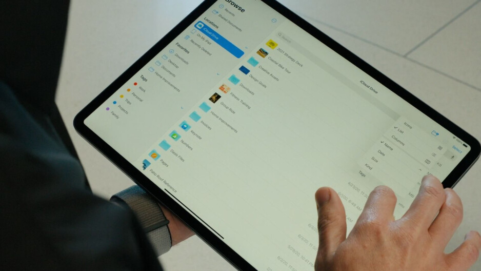 New Files app - What's new in iPadOS 14? Which iPads will support iPadOS 14?