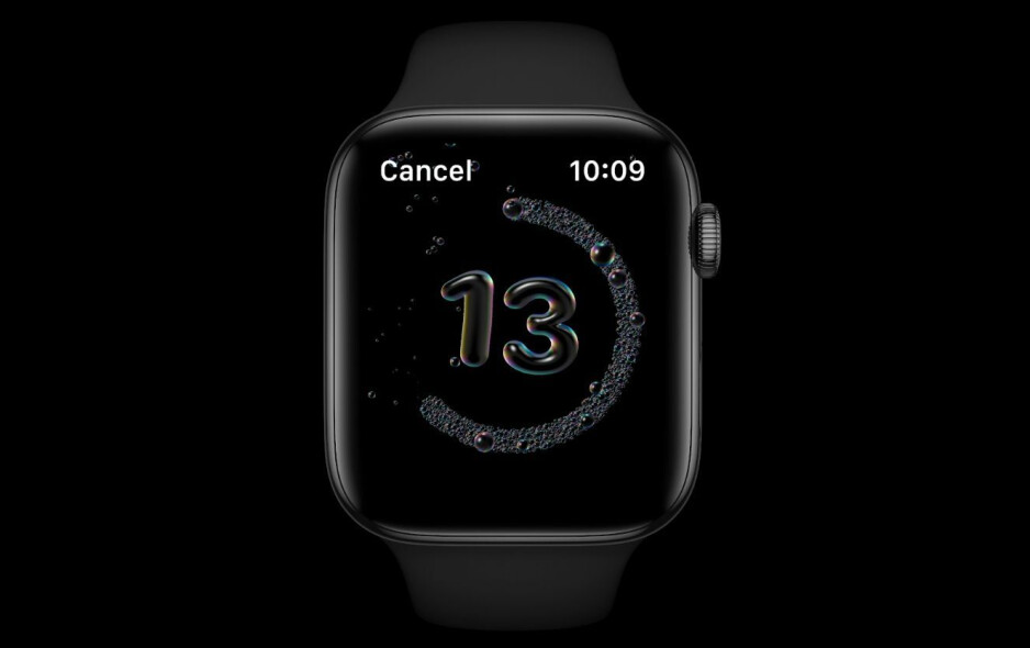 with WatchOS 7, you will be reminded to wash your hands for at least 20 seconds - watchOS 7 brings richer watch faces, sleep tracking, new workouts, handwash detection, and more