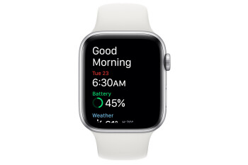 Watch face in the morning - Apple watchOS 7 finally brings sleep tracking