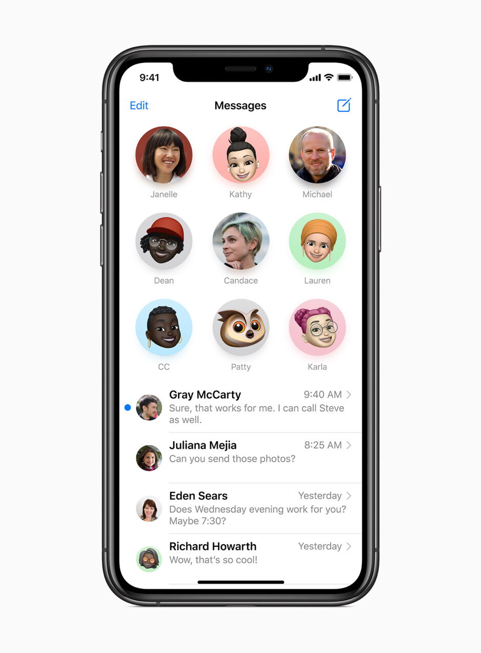Messages in iOS 14 - Apple iOS 14 Review: Hands-on with all the new features