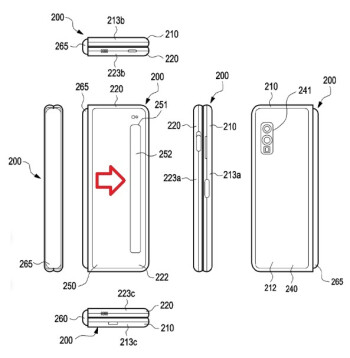 ...based on illustrations from a Samsung patent filing - You're not going to like these Samsung Galaxy Fold 2 renders
