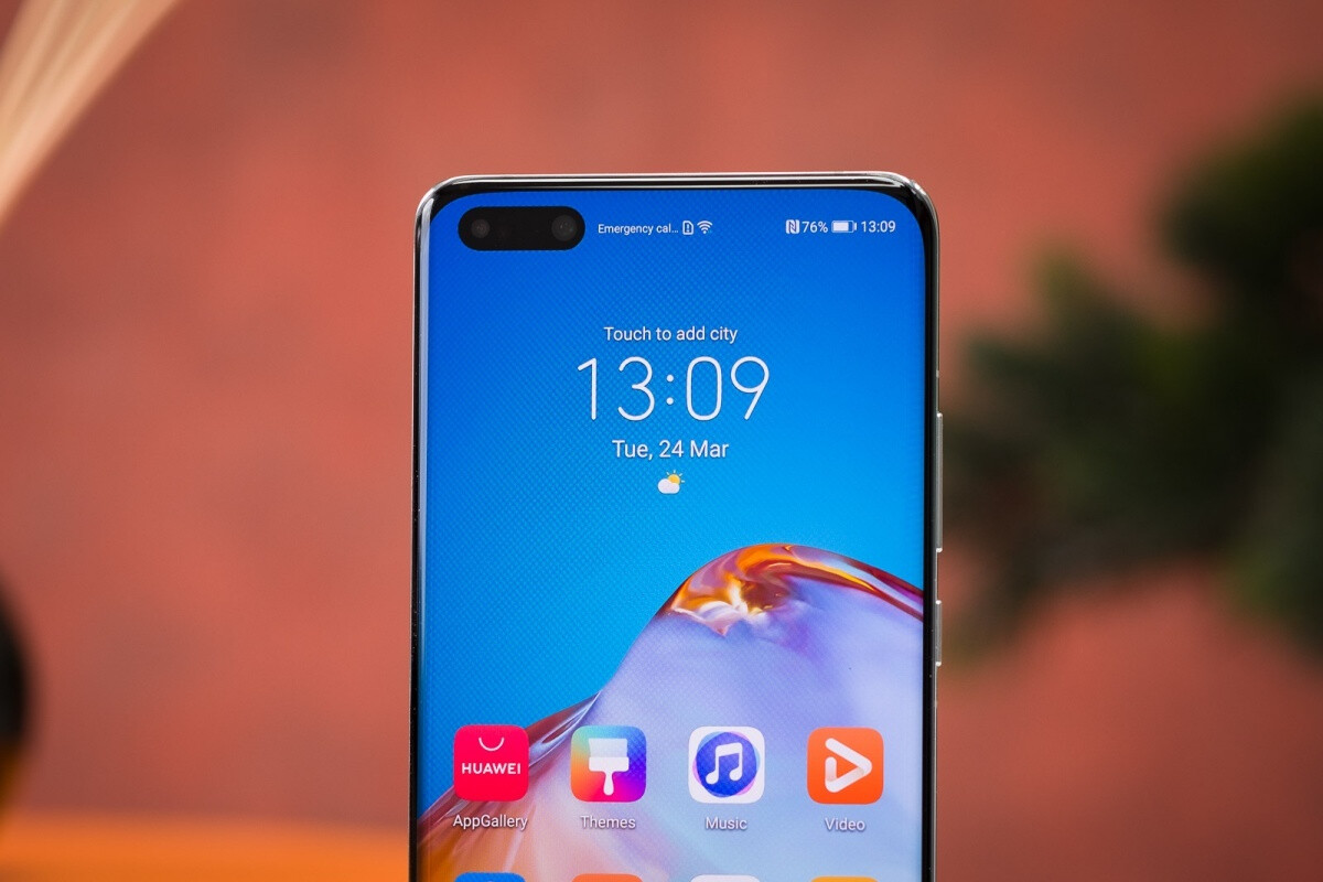 The Huawei P40 Pro comes with a large dual front-facing camera arrangement - New rumor claims to reveal key OnePlus Nord 5G distinguishing feature