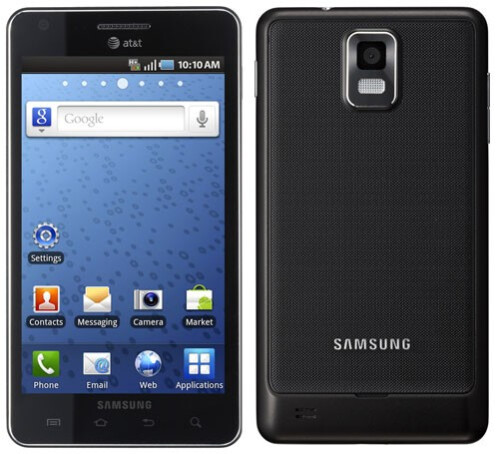 Samsung Infuse 4G - Samsung Infuse 4G coming on AT&T with a huge 4.5-inch Super AMOLED Plus display, razor thin