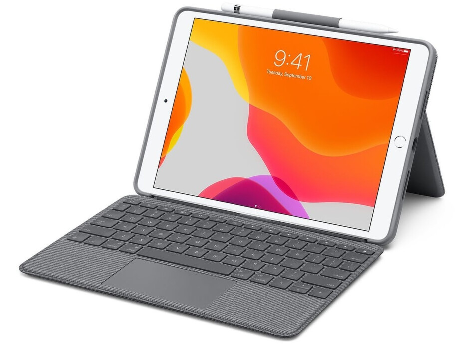 The Logitech Combo Touch keyboard case for iPad comes with a trackpad and provides a laptop-like experience. - Here's how to use a mouse on your iPad, and what it's like