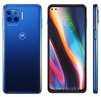 Render of alleged Moto g 5G - Leaked render allegedly shows Motorola's lower-priced 5G entry