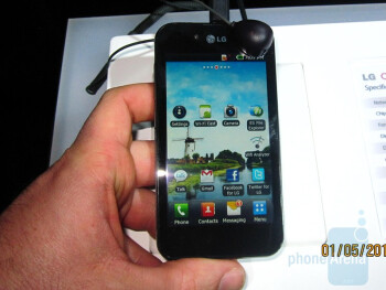 LG Optimus Black Hands-on