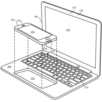 Apple patent from 2016 shows the iPhone powering a MacBook shell - Tipster says desktop experience could be coming to the Apple iPhone