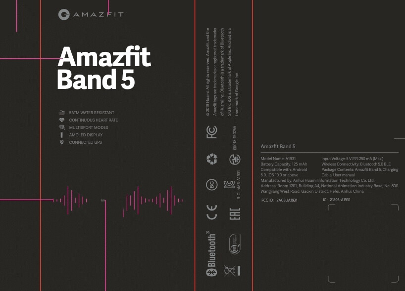 Xiaomi Mi Band 5 may arrive in the US as Amazfit Band 5
