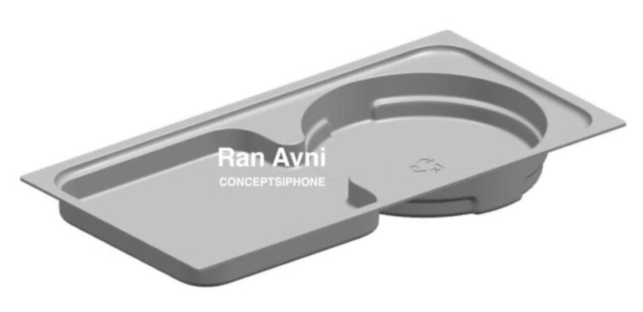 Render of the box insert for the iPhone 12 series shows no room for the EarBuds or the charging brick - Apple iPhone 12 5G packaging render gives you a clue about what's missing from the box
