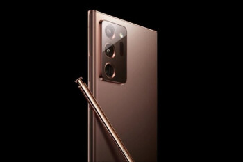 Image of the Galaxy Note 20 Ultra's rear cameras and the S Pen - It's official! Samsung Galaxy Note 20 Ultra 5G unveiling to take place August 5th